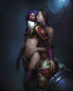Female Chaos Lord with Concubine