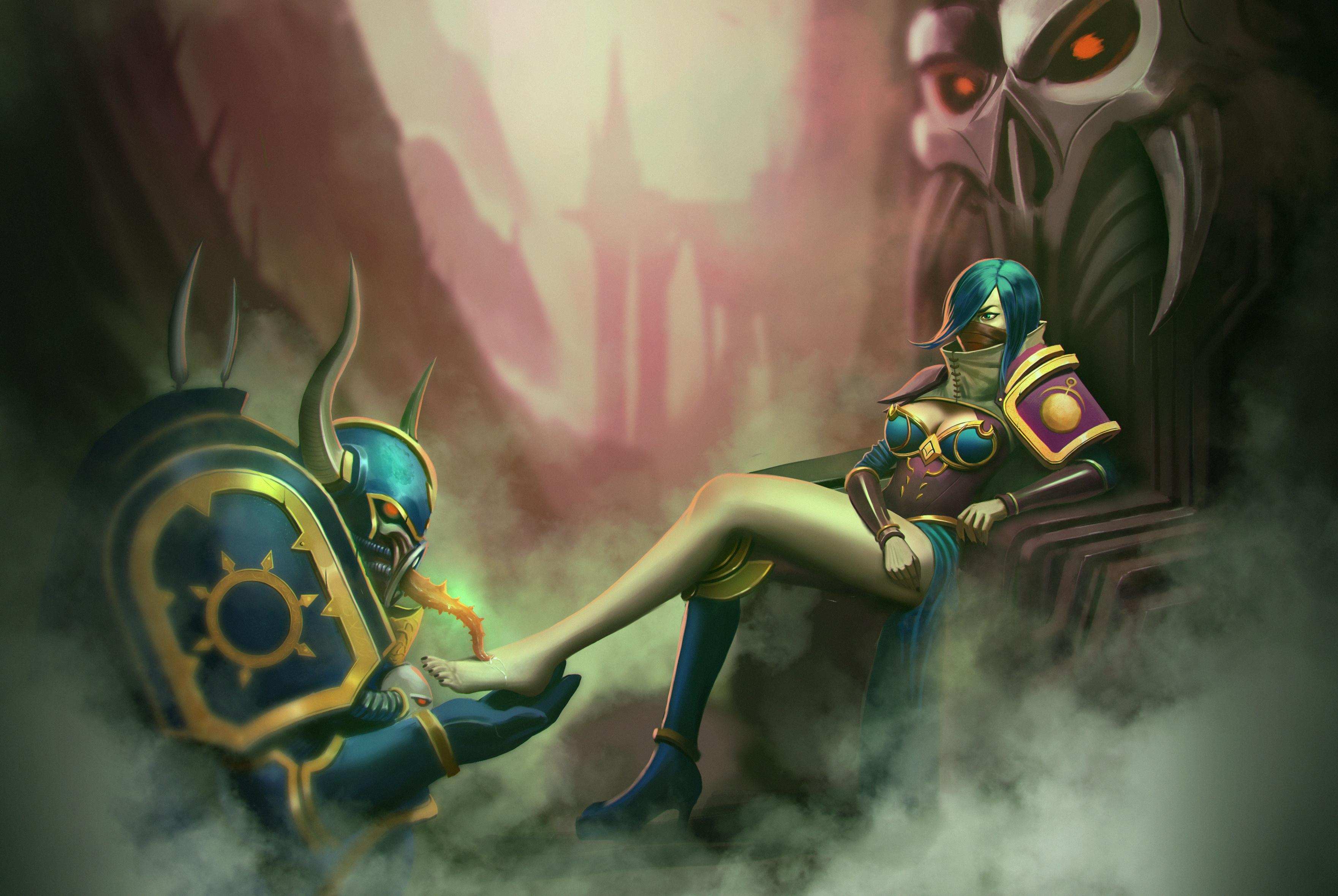 Anastessas Slavehost Blog Of Warhammer 40k Slaaneshi Heretic